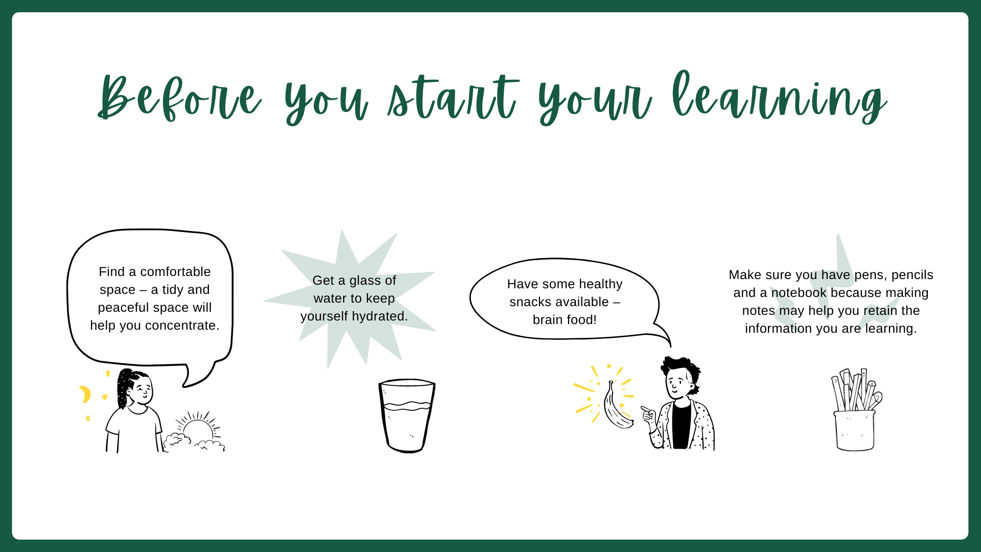 Before you start learning Intro