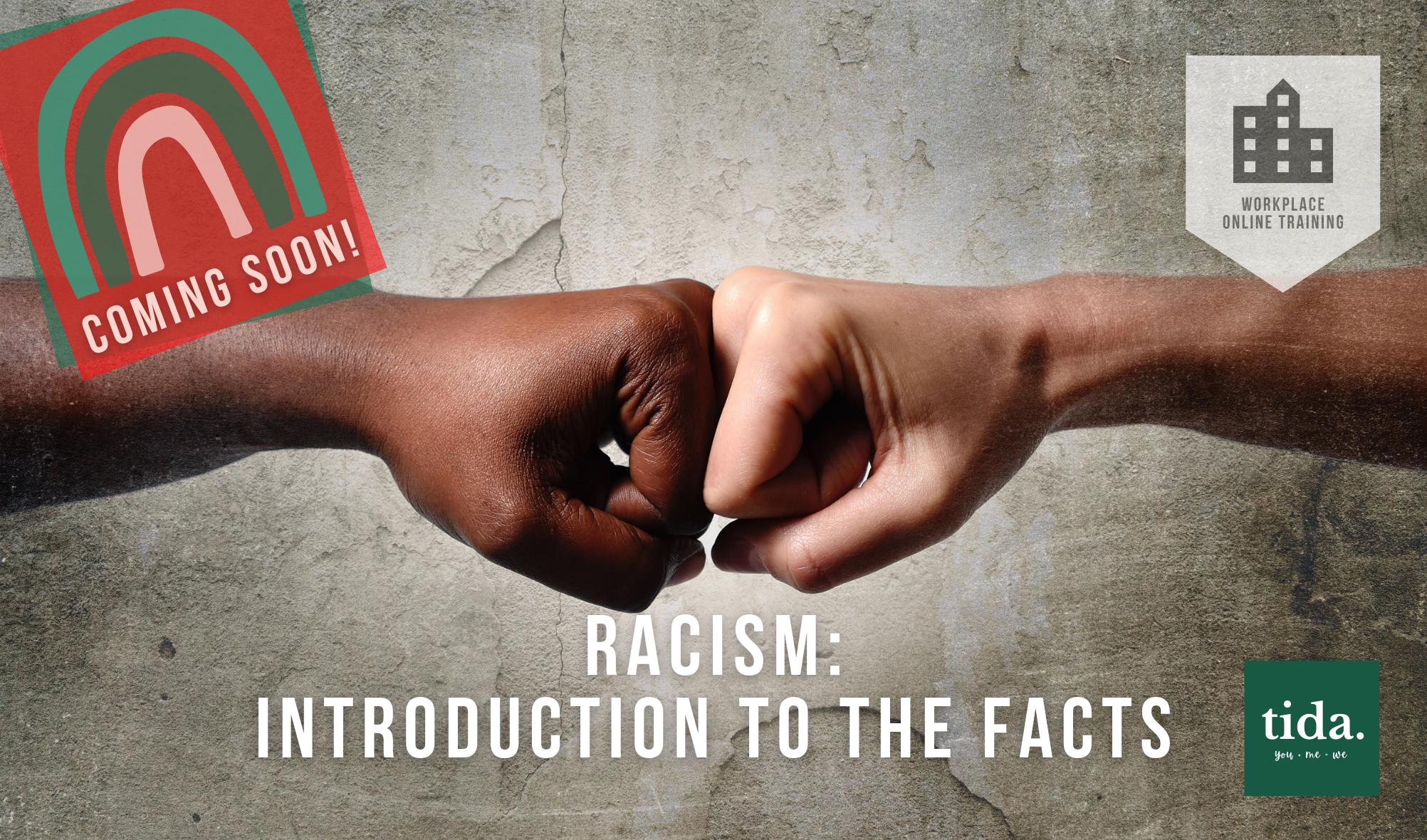 Racism online course logo