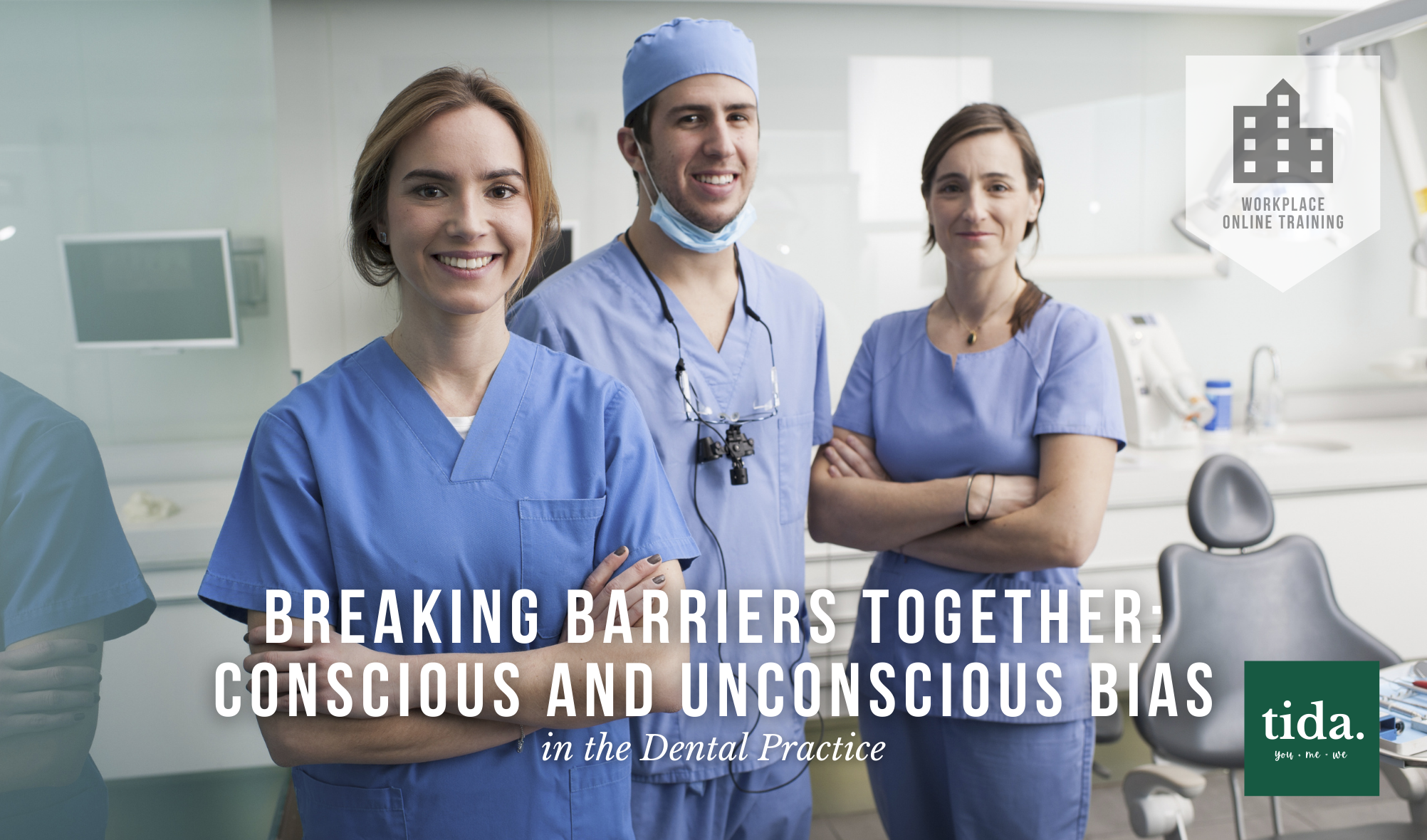 Conscious and Unconscious Bias for Dental Professionals - Online training from TIDA - course logo