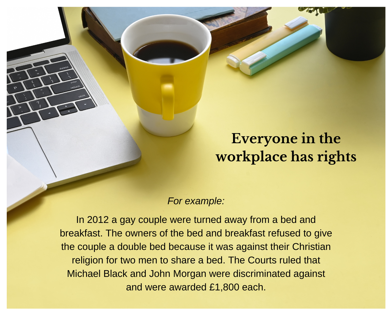 Equality - Workplace rights
